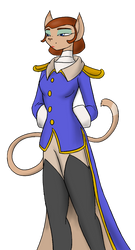 Captain Amelia by livinlovindude