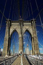 Brooklyn Bridge, New York by gavwvin