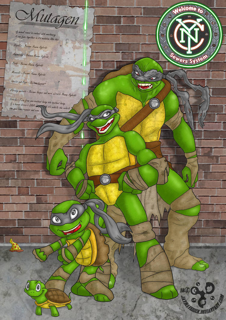 TMNT welcome to New York City sewers system by JayMaverick
