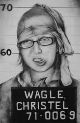 Self Portrait as a Mugshot by chris-tel