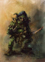 FEARSOME GOBLIN 2 by LUISCAR