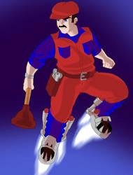 Super Mario by OptimusPraino
