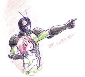 Be a Hero by OptimusPraino