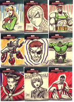 Marvel Sketch Cards Batch 10 by OptimusPraino