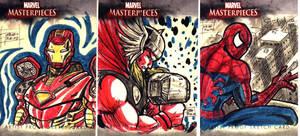 Marvel Artist Proof Cards III by OptimusPraino