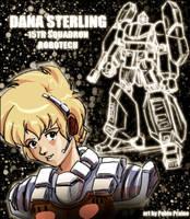 Dana Sterling by OptimusPraino
