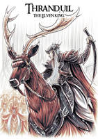 Elven King Thranduil by OptimusPraino