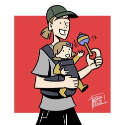 Jay Mewes and Logan Lee by OptimusPraino