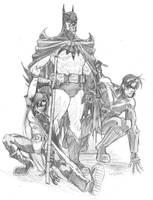 Bat Family by OptimusPraino