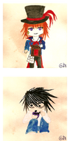 Drocell, L and Undertaker by Vazchu