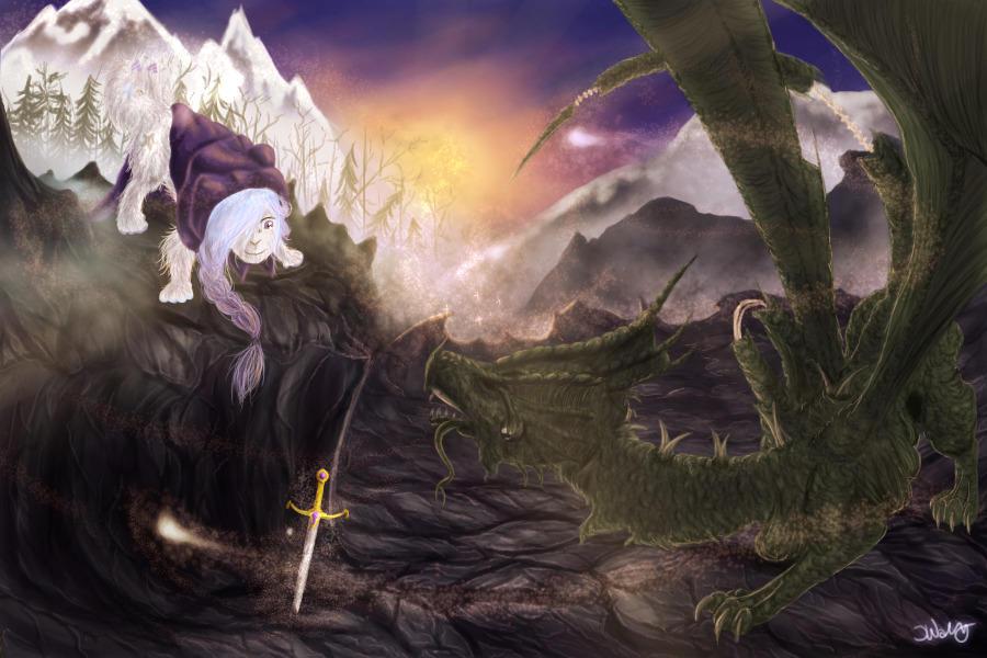 Worlds colliding by Vazchu