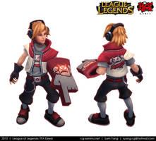 League of Legends: TPA Ezreal 2013 by cg-sammu