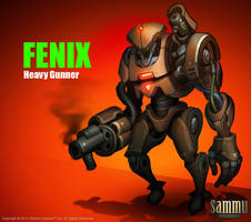 Fenix, Heavy Gunner by cg-sammu