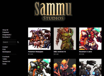 Online Store is now live! by cg-sammu