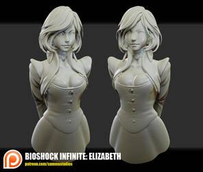 Bioshock Infinite: Elizabeth by cg-sammu