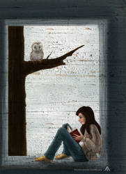 Reading time by TheOtherShiroki