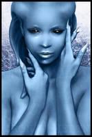 Sweet miss blue by Uzlo
