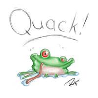 Froggie by Uzlo
