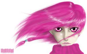 Little miss Pink by Uzlo