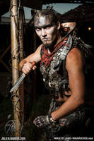 Wastelander Portraits: Specter by Wasteland-Warriors