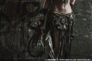 wasteland skirt details by Wasteland-Warriors