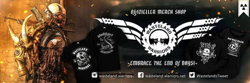 GET YOUR MERCH HERE! by Wasteland-Warriors