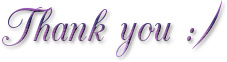 Thank you ~ purple ~ FREESTUFF by AStoKo