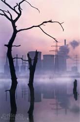 Bei Morgengrauen - At break of dawn by AStoKo