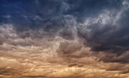 Stormy Sky blue-sepia V1 STOCK by AStoKo