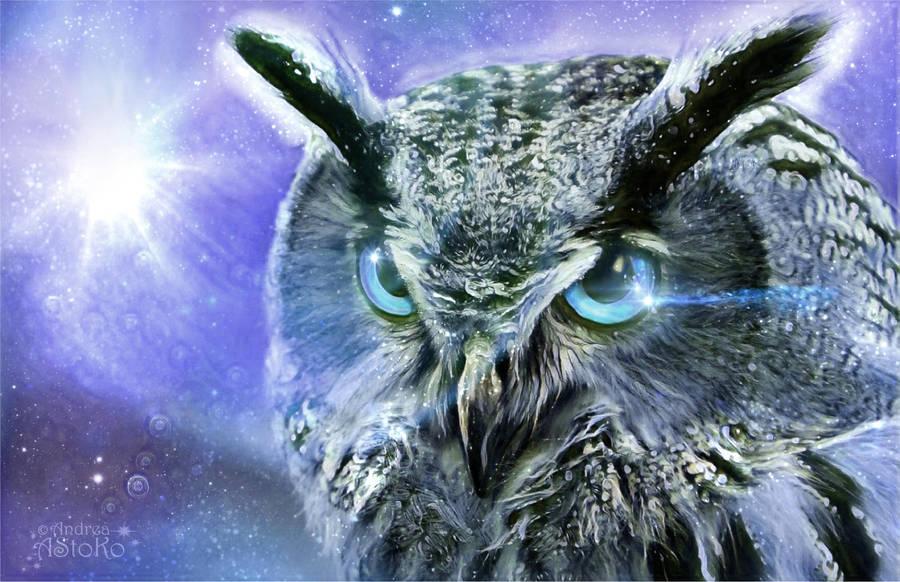 Ice Owl by AStoKo