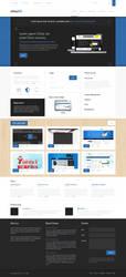 sample Theme - Homepage by callofsorrow