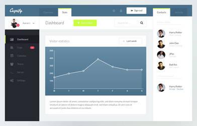 Dashboard Admin Theme by callofsorrow