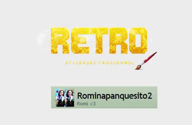 Retro style | by Romina-panquesito