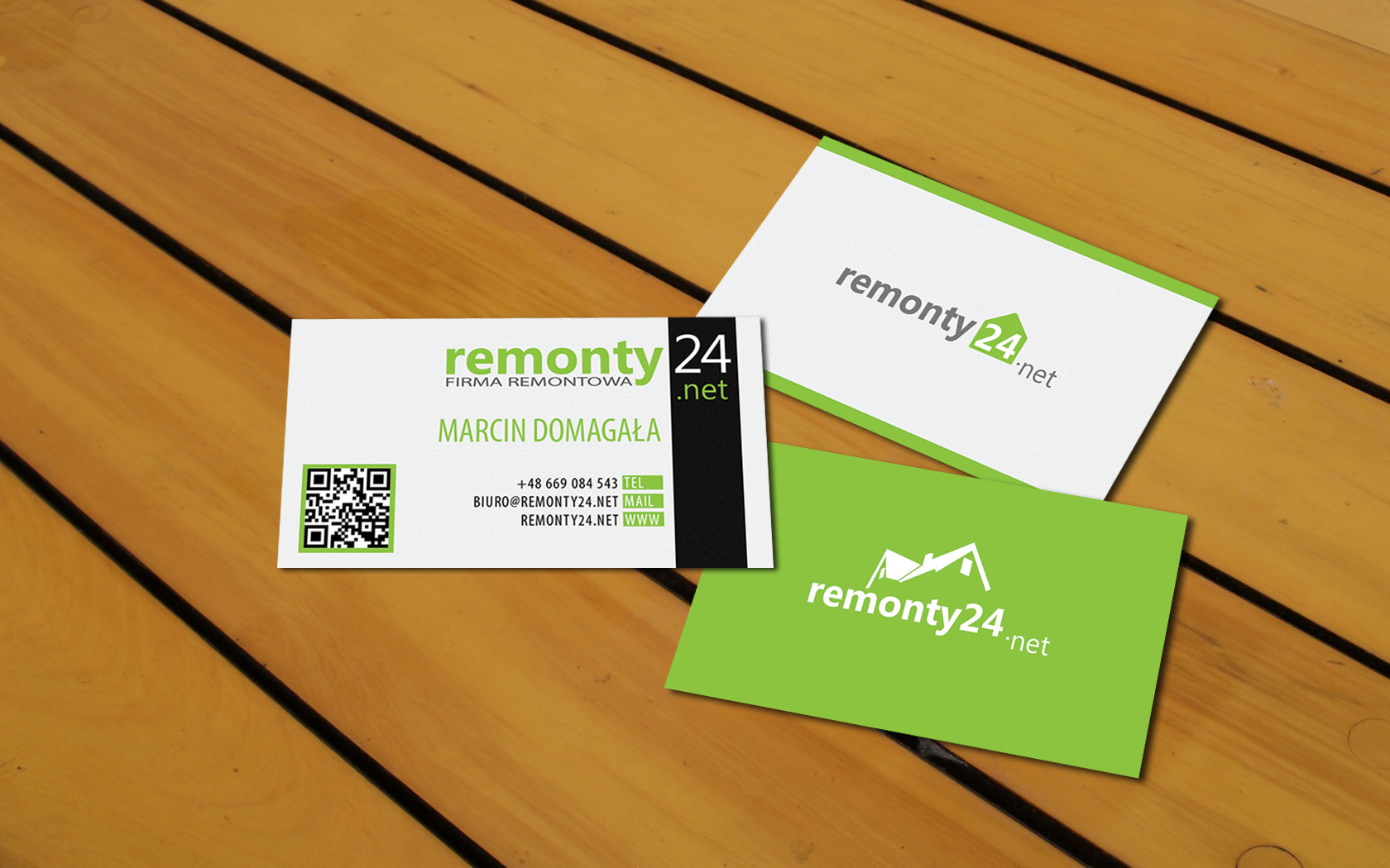Free business cards in PSD by ZonicPL