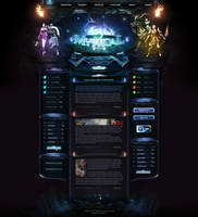 Mystical2 - Webdesign by King--Sora