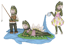 Fish Head Lady for the Mini Pageant by Crazy-Lola