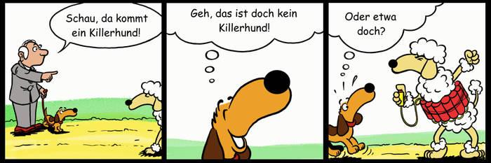 Wienerdog 024 by KiliComic