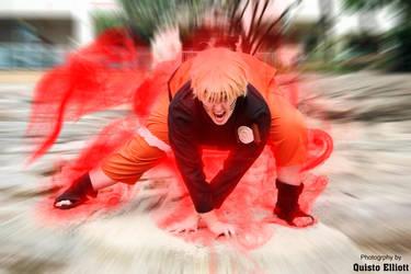 Naruto Kyuubi Cloak by Mutchiness
