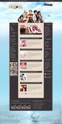 Fairy Tail MX, Wordpress Theme by Illusiv-Fr