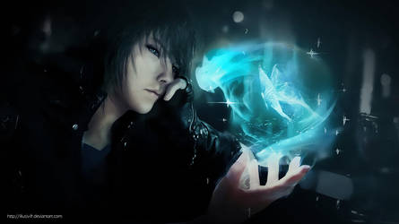 Noctis Lucis Caelum - Final Fantasy XV Wallpaper by Illusiv-Fr