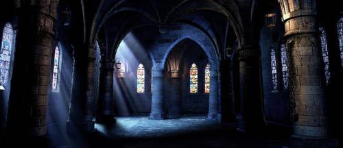 Castle Interior by JJasso