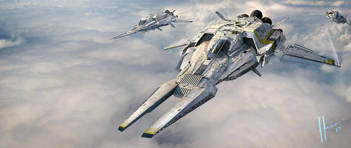 Armada Aerospace Interceptor by JJasso