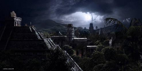 Mayan Night by JJasso