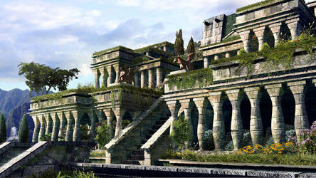 Gardens of Babylon by JJasso