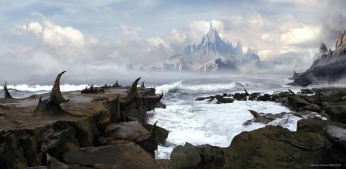 Thorniak Peninsula by JJasso