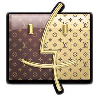Louis Vuitton Finder for Mac by Somonette