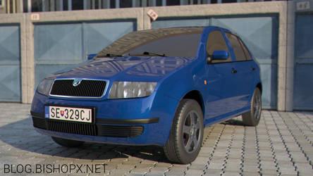 Skoda fabia garages scene by chrbet