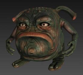 Grumpy midget orc - mudbox sculpt by chrbet