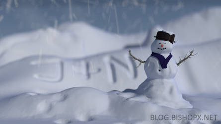 Snowman by chrbet