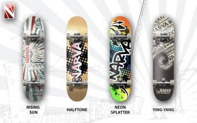 Skateboard Concepts by Murakumon